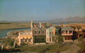Lake Havasu City, AZ, English Village Park, Chrome Vintage Postcard g5716