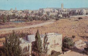 JERUSALEM, Israel  50-60s City of Jerusalem with Mount Zion