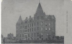 WINNIPEG, Manitoba, Canada, 1907 ; Wesley College