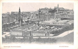 View from the castle Edinburgh Scotland, UK Unused