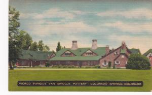 COLORADO SPRINGS, Colorado, 30s-40s; World Famous Van Briggle Pottery