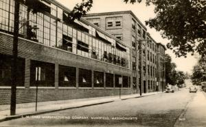 MA - Mansfield. S.W. Card Manufacturing Company