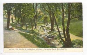 Strawberry Mansion, Fairmount Park,Philidelphia, Pennsylvania, 00-10s The Spring