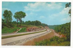 KY Kentucky Turnpike Interstate Rte I-65 Highway Curteich 1956 Postcard K1999