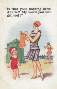 Is that your bathing Dress Auntie? ..., 00-10s