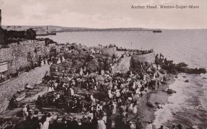 Weston Super Mare , England , PU-1912 ; Anchor Head