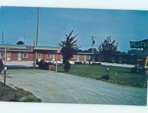 Unused Pre-1980 PATIO PLAZA MOTEL Humboldt Kansas KS n7109-22