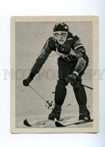 166983 VII Olympic ANDERL MOLTERER skier CIGARETTE card