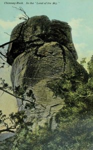 C. 1900-10 Chimney Rock State Park Rutherford County, NC Vintage Postcard F75