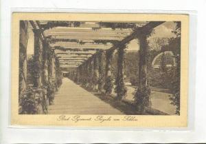 Bad Pyrmont , Germany, PU-1919, Pergola am Schloss