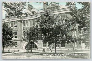 Ypsilanti Michigan~Eastern Michigan University~Science Building~Students~1911