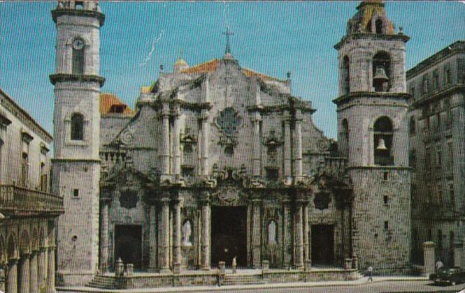 Cuba Havana Cathedral Of Havana 1955
