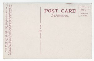 P1234 old  unused postcard h. logan coffee house high st. dumfries scotland