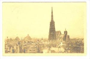 Stefanskirche v. Franziskanerturm, Wien, Austria, 1900-1910s