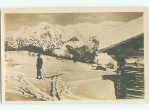 old rppc HOCHWANG Schanfigg & Prattigau - Graubunden Switzerland i2639