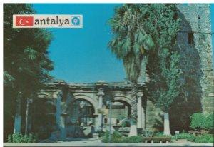 Postcard Necmi Cetin Cumhuriyet Cadesi Ozel Idare Karsis Antalya Turkiye Turkey