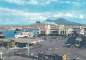Helicopter Heliport , NAPOLI , Italy , 1961