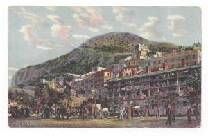 Prudential Insurance Co Gibraltar Casemates Advert Postcard