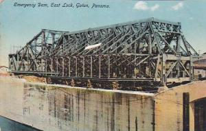 Emergency Dam, East Lock, Gatun, Panama, 1900-1910s