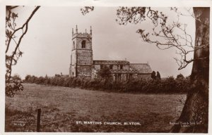 RP: BLYTON , England , 1930s ; St. Martins Church