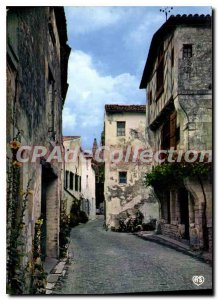 Modern Postcard Ile de re Saint Martin C. Ms. Vielles houses