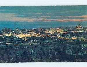 Pre-1980 PANORAMIC VIEW Calgary Alberta AB i0840