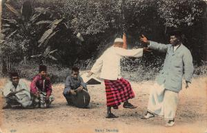 Singapore Malay Dancing Native People Postcard