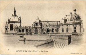 CPA Chantilly- Chateau, La Facade FRANCE (1008722)