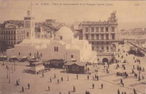 Place Du Gouvernement Et Le Mosquee Djemaa Djedid, Alger, Algeria, Africa, PU...