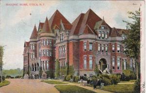 New York Utica Masonic Home 1906