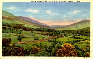 VT -  Manchester. Green Mountain Valley