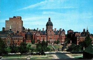 Maryland Baltimore Johns Hopkins Hospital 1962