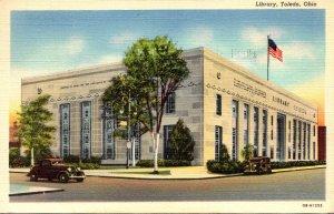 Ohio Toledo The New Library 1945 Curteich