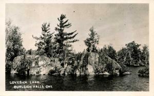 Canada - Ontario, Burleigh Falls. Lovesick Lake.    *RPPC