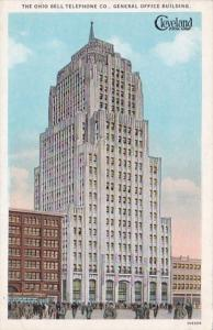 Ohio Cleveland The Ohio Bell Telephone Company General Office Building Curteich