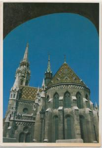 BUDAPEST, Matyas templom, Matthias Church, 1994 used Postcard