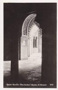 RP: Seville - Five arches - Garden of Alcazar , SPAIN , 20-30s