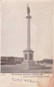 Revolutionary Monument, Baltimore,  Maryland, 00-10s
