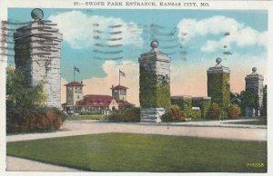 KANSAS CITY , Missouri , PU-1931 ; Swope Park Entrance