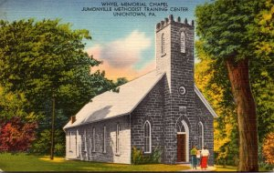 Pennsylvania Uniontown Whyel Memorial Chapel 1955