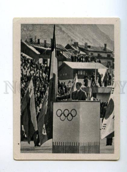 167017 Olympic Winter Games CORTINA d'Ampezzo CIGARETTE card