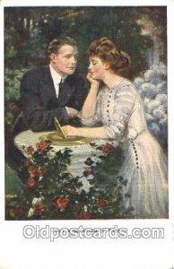 Artist Signed Clarence Underwood Nr. 834 D, M M.Munk, Wien Unused