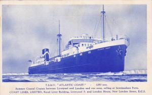 T.S.M.V. ATLANTIC COAST, 20-40s