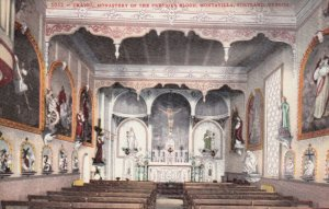 PORTLAND, Oregon, 1900-10s; Interior, Chapel, Monastery of the Precious Blood...