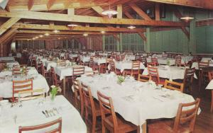 Dining Room , Delawana Inn , HONEY HARBOUR , Georgian , Ontario , Canada , 50...