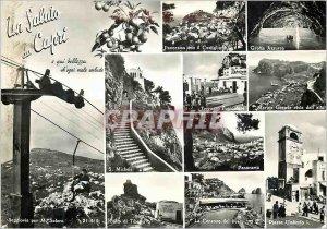 Modern Postcard Capri