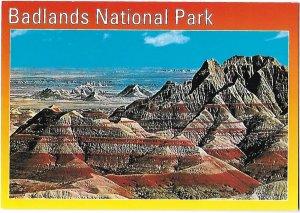South Dakota Wonders Badlands National Park Multicolored Buttes 4 by 6