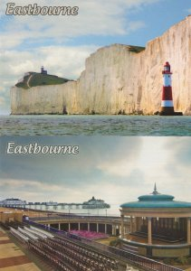 Eastbourne Bobsters Guided Tours 2x Advertising Postcard s