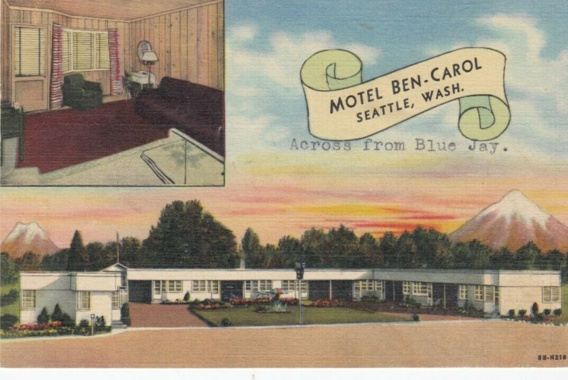 SEATTLE , Washington , PU-1948 ; Moytel Ben-Carol