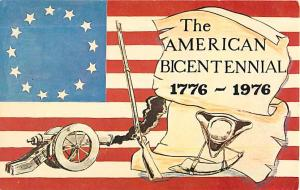 The American Bicentennial 1776-1976 Chrome Postcard